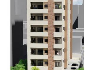 Edifício Multifamilar 3 Casas modernas por Sheila Cyrne - Arquitetura do Bem Estar - Moderno
