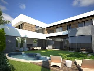 ONIX JARDIN: Casas de estilo moderno por OC ARQUITECTOS