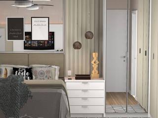 Dormitorios de estilo escandinavo de Decoropravocê - Decoração ao seu alcance. Escandinavo