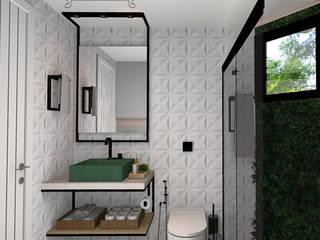 Decoropravocê - Decoração ao seu alcance. Industrial style bathroom