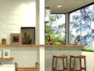 Balcones y terrazas modernos de Decoropravocê - Decoração ao seu alcance. Moderno