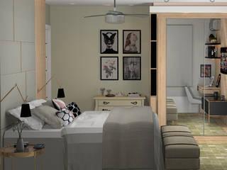 Dormitorios de estilo moderno de Decoropravocê - Decoração ao seu alcance. Moderno