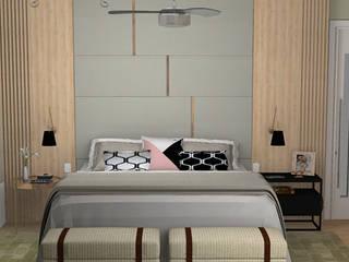 Decoropravocê - Decoração ao seu alcance. Modern style bedroom