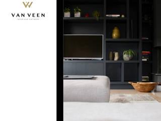 INTERIEURONTWERP WOONKAMER:   door VAN VEEN Interior Design