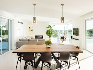 Casa Salicos Salas de jantar modernas por dacruzphoto Moderno