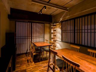 <DISPENSER>architects 小野修 一級建築士事務所 Restaurantes Concreto