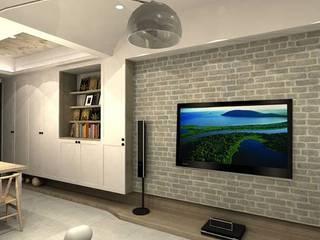 十種風格電視牆設計:   by 圓方空間設計