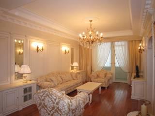 Appartamento a Mosca Camera da letto in stile classico di Turati Boiseries Classico