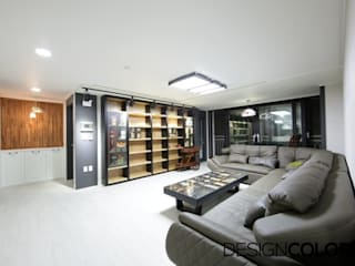 DESIGNCOLORS Modern living room Black