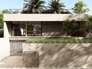 Tampak Depan Rumah Tropis Oleh alexander and philips Tropis