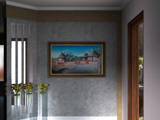 Entrance Wall:   by Kori Interiors