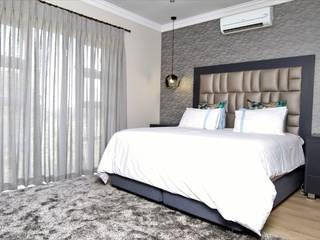 غرفة نوم تنفيذ Motama Interiors and Exteriors