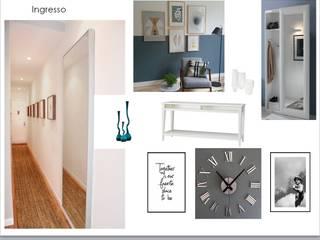 Senza emozioni la vita è solo un orologio che fa TIC TAC ...:  in stile  di Creattiva Home ReDesigner  - Consulente d'immagine immobiliare