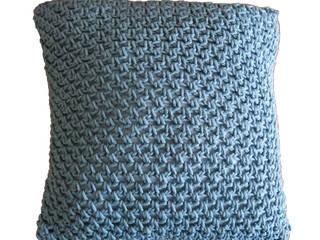 Almofada Textures Turquoise:   por Com Raiz