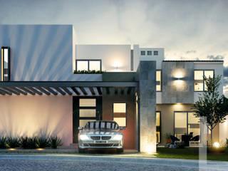 Casa B & D / Residencial Las Plazas / LTd Casas modernas de LTd Arquitectura & Interiorismo Moderno