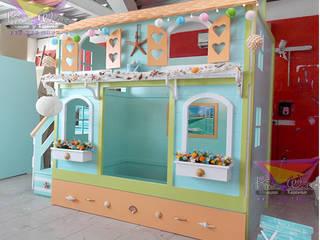 Preciosa casita Mazatlan: Habitaciones infantiles de estilo  por camas y literas infantiles kids world
