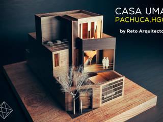 CasaUma : Casas de estilo moderno por Reto Arquitectos