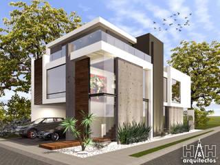 by Herrera Arquitectos H&H Мінімалістичний
