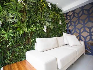 Vertical Garden - Jardim Vertical e Paisagismo Corporativo Paisajismo de interiores
