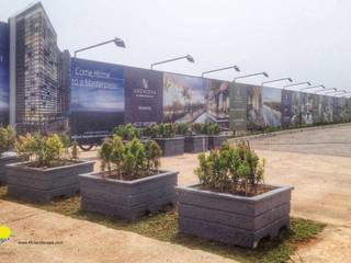 ONE PARC PURI Kantor & Toko Gaya Industrial Oleh PT. Kampung Flora Cipta Industrial