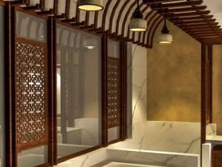 クラシックスタイルの お風呂・バスルーム の Chaukor Studio クラシック