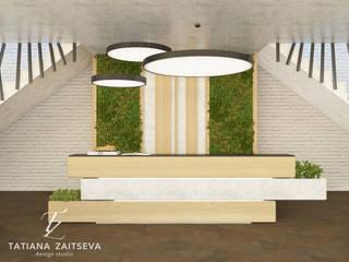 Гостиная в тропическом стиле от Design studio TZinterior group Тропический