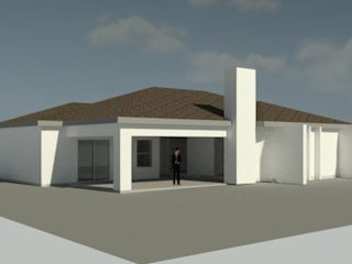 House POLE:  Houses by KGOBISA PROJECTS