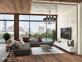 Гостиная в классическом стиле от Design studio TZinterior group Классический