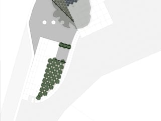 Minimalist style garden by Claudia Gomes Minimalist
