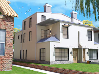 twin duplex design in Denver, Colorado. من Quattro designs