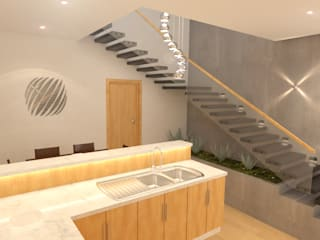 twin duplex design in Denver, Colorado.:   تنفيذ Quattro designs