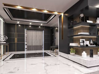 Kalafatoglu Marina Residence Modern Koridor, Hol & Merdivenler VERO CONCEPT MİMARLIK Modern
