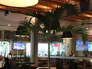 Restaurantes Toks: Comedores de estilo moderno por montage arquitectos