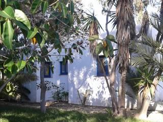 Diseño del proyecto del hotel Botaniq boutique en Mojacar.: Casas de estilo  de Ale debali study