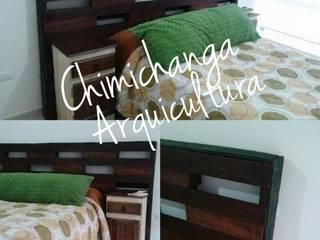 Cabecera Tarima:  de estilo  por Chimichanga Sustentabilidad Creativa
