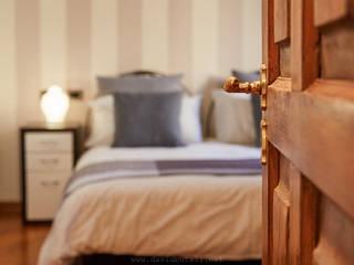 Mini appartamento a Firenze Camera da letto moderna di Studio fotografico di David Butali Moderno