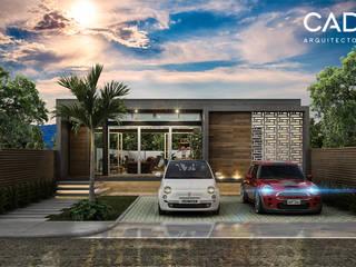 LOFT SANTIAGO: Casas unifamiliares de estilo  por CAD Arquitectos