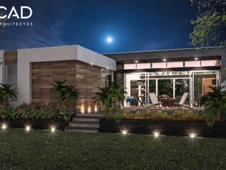 Garden: Casas unifamiliares de estilo  por CAD Arquitectos