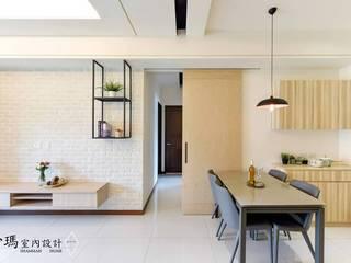 沙瑪室內裝修有限公司 Scandinavian style living room