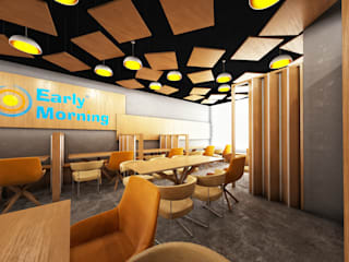 Early Morning Restaurant KSA من Zoning Architects حداثي