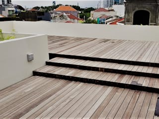 Rooftoop:   by Jati and Teak