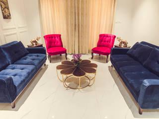 """House of Festivities"" Eclectic style walls & floors by Nikunj Sharma Design Studio Eclectic"