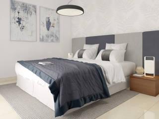Diseño y decoración de Dormidorios: Dormitorios de estilo  de Taller de Interiores Mediterraneos