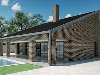 Single family home by A3D INFOGRAFIA, Modern
