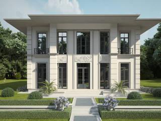 Проект небольшого двухэтажного дома: Загородные дома в . Автор – IL design