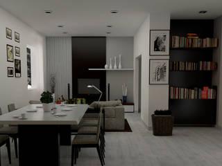 غرفة السفرة تنفيذ Lambda Design