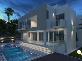 Casa - Key Biscayne, Miami Florida 200 de Arqed Minimalista