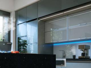 Apartamento cocina - sala - comedor de Arqed Moderno