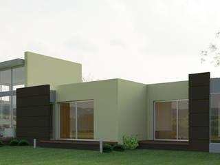 VIVIENDA  CAMPESTRE: Casas de estilo  por IAA LTDA,