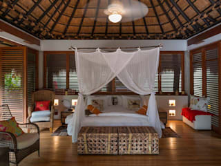 Tropical style bedroom by NOAH Proyectos SAS Tropical